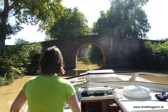 Brücke am Canal du Midi