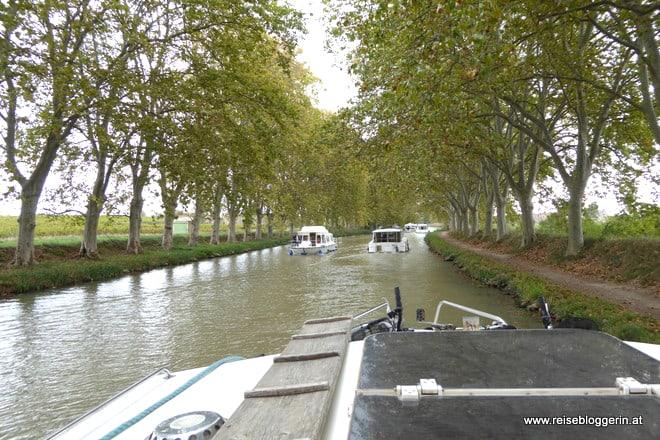 Canal du Midi in Frankreich