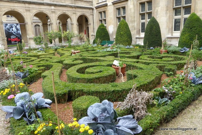 Der Garten im Carnavalet Museum