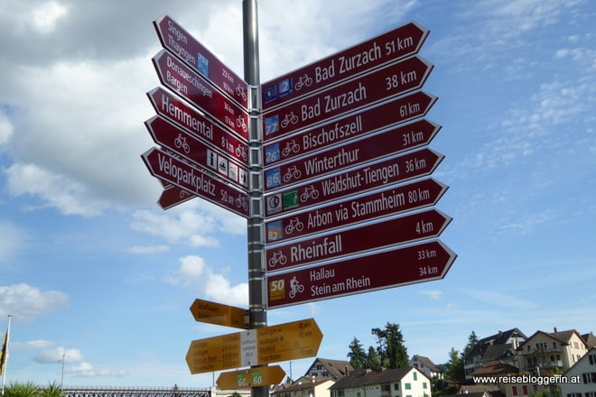 Radwege Schweiz
