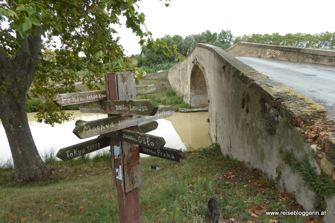 Regen und Sturm am Canal du Midi
