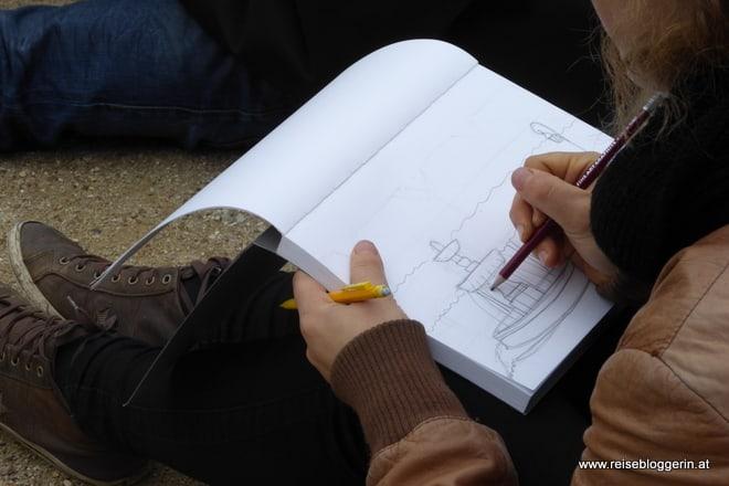 Zeichenunterricht