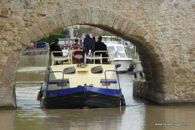 Canal du Midi Brücke
