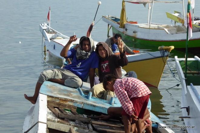 Auf dem Fischmarkt in Sulawesi