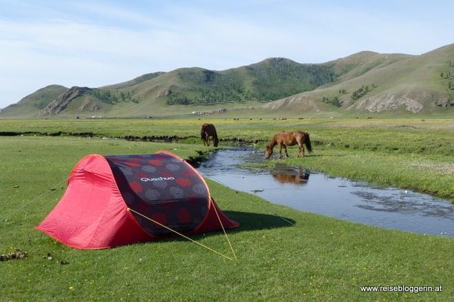 Mongolei Camping