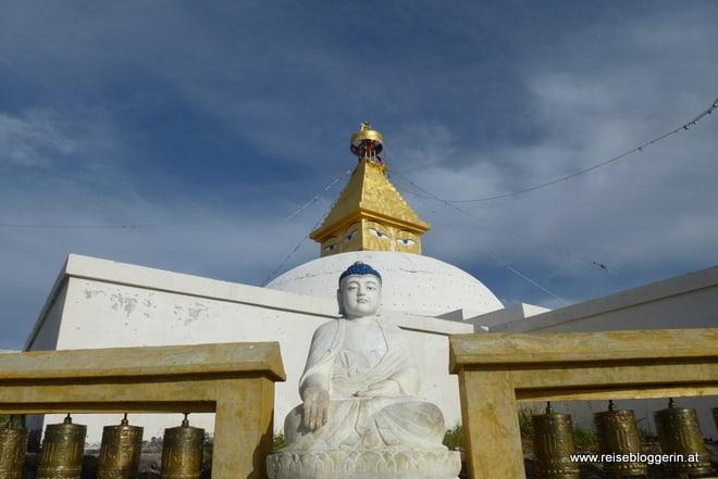 Stupa in der Mongolei