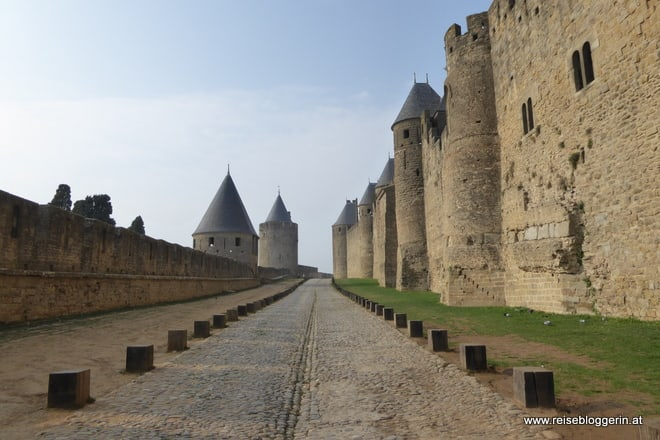 Carcassonne - Ein Stadt wie aus dem Mittelalter