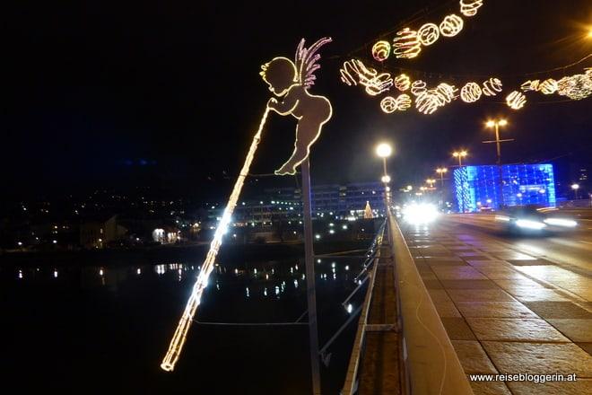 Engel auf der Nibelungenbrücke