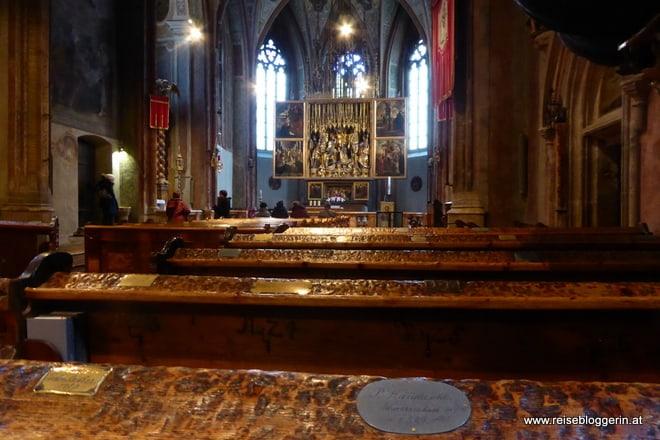 In der Kirche von St.Wolfgang
