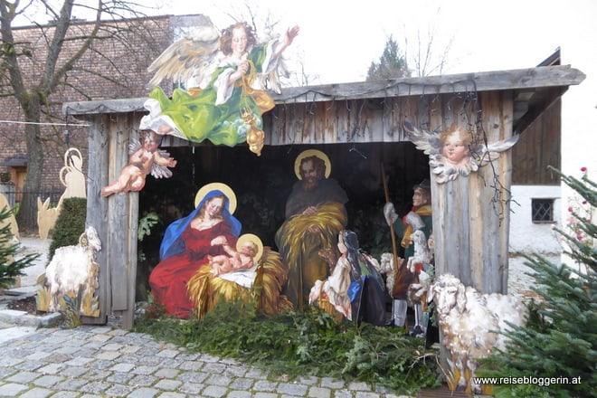Krippe in St.Gilgen