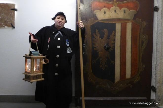 Nachtwächter in Linz - Wolfgang Liegl