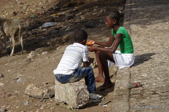 Kinder auf den Kapverden