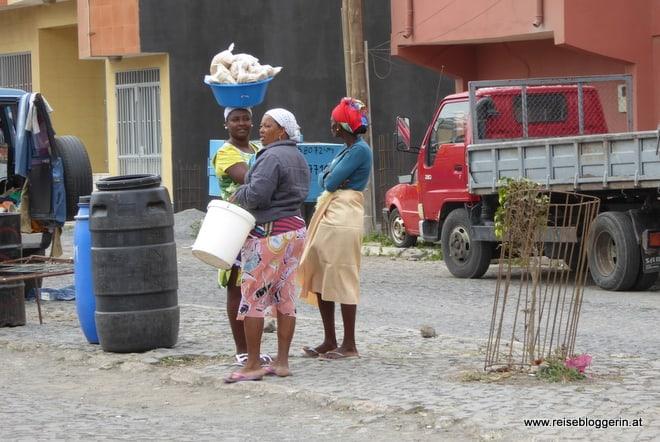 Am Markt auf den Kapverden