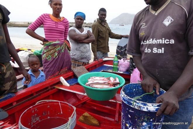 Fischfang auf den Kapverden
