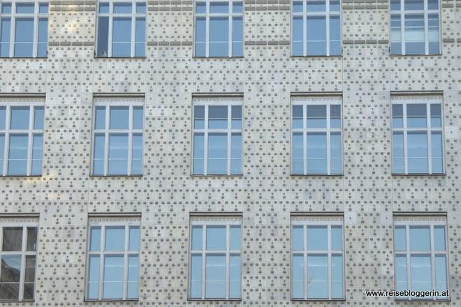 Postsparkasse in Wien, erbaut von Otto Wagner