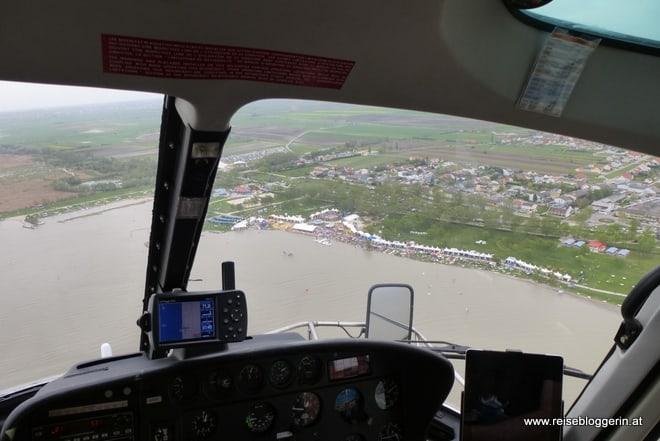 Hubschrauber am Neusiedlersee