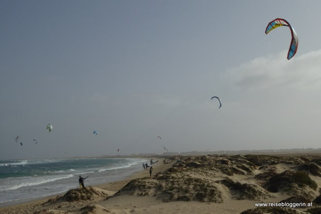 Kitesurfen auf Sal