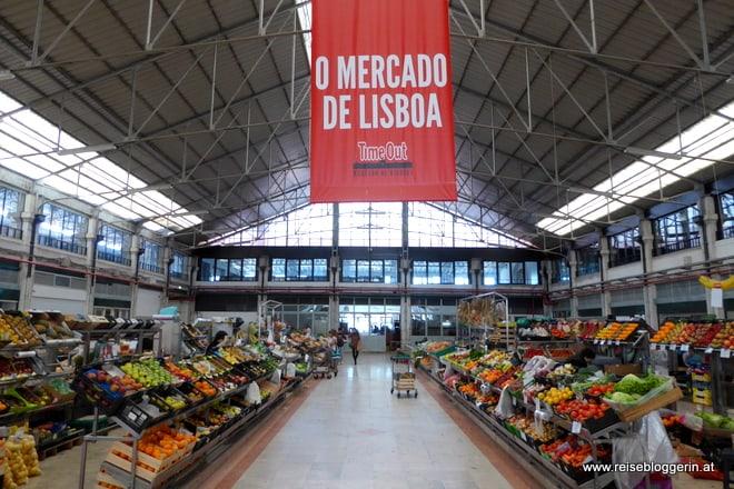 Lissabon Markthalle