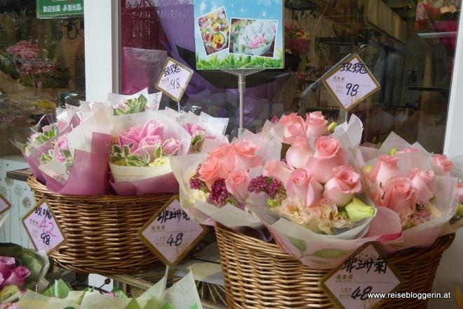 Flower Market Hongkong