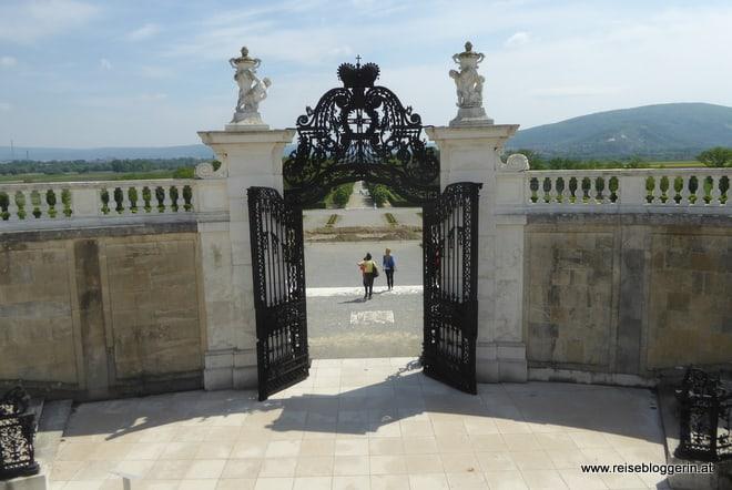 Gartenanlage Schloss Hof