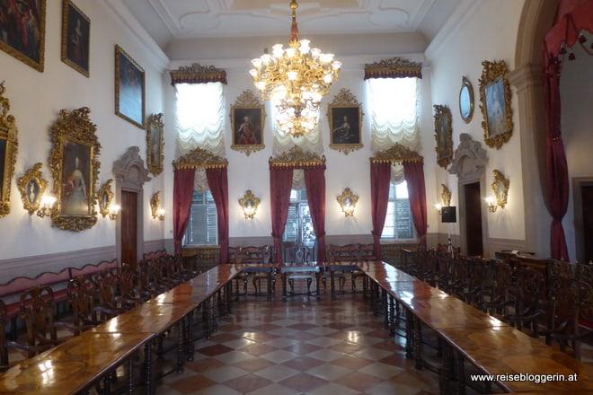 Ehrensaal im Merkantilmuseum