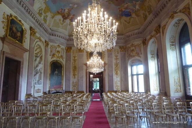 Festsaal in Schloss Hof