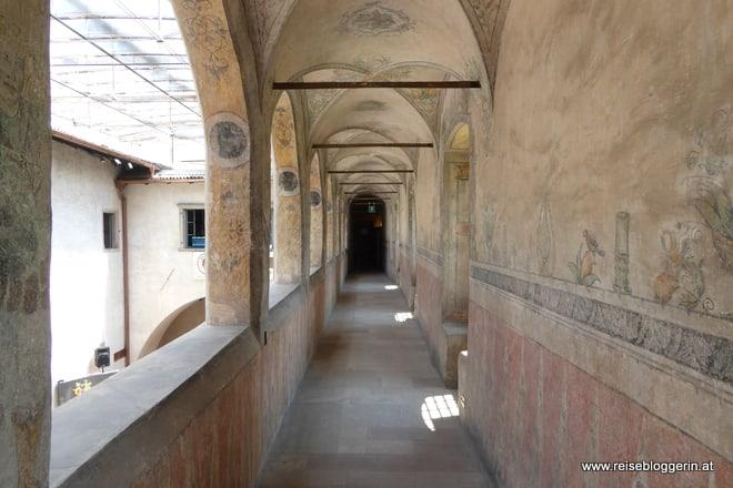 Fresken im Schloss Maretsch