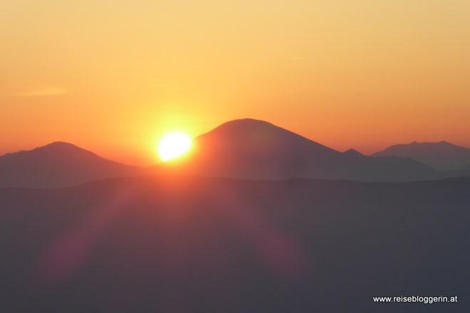 Sonnenaufgang Goldeck