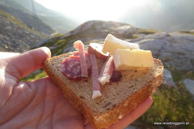 Gletscherfrühstück