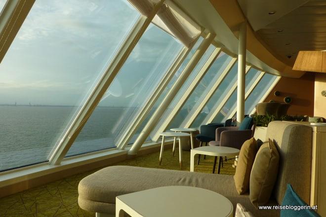 Ruhe in der Himmel und Meer Lounge