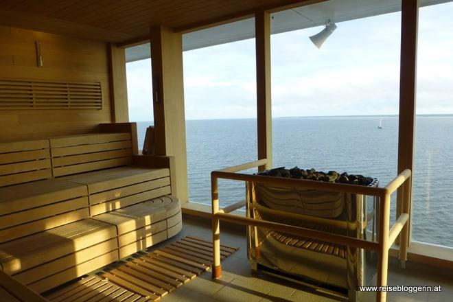 Sauna auf Mein Schiff