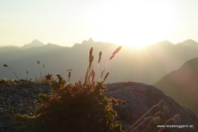 Gletscherfrühstück bei Sonnenaufgang