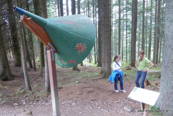 Hörtrichter im Naturpark Mürzer Oberland