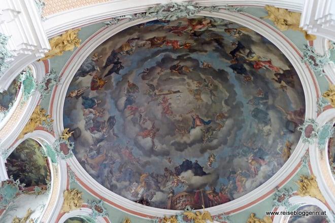 Kathedrale St.Gallen Deckenfresko