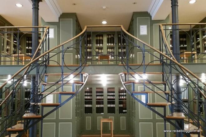 Textilbibliothek in Sankt Gallen