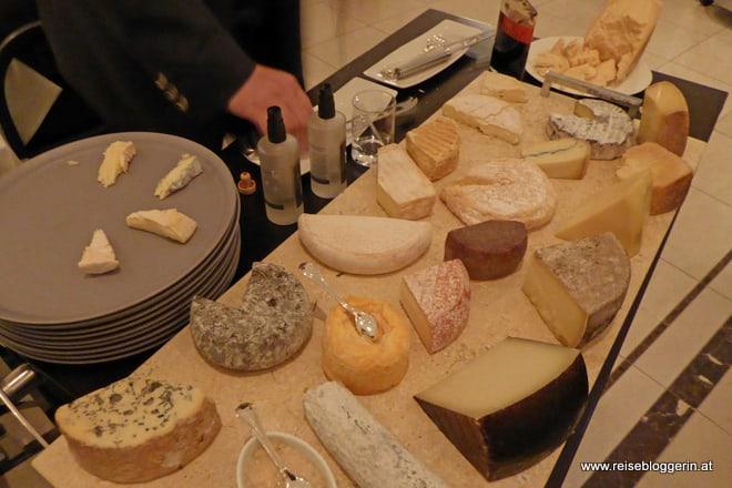 Käsebuffet im Steirerschlössl