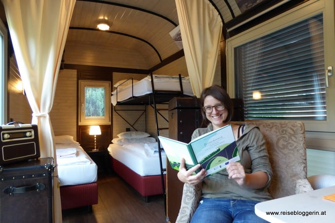 Die Reisebloggerin im Waggonhotel