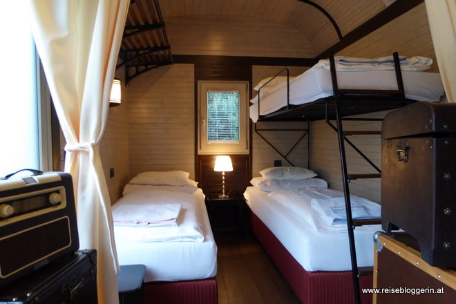 Waggonhotel in der Steiermark