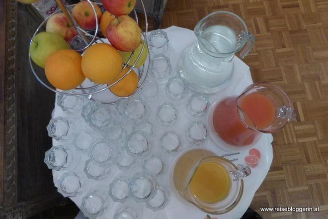 Frühstück im Hotel Villa Rivoli