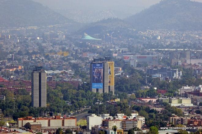 Mexico City von oben