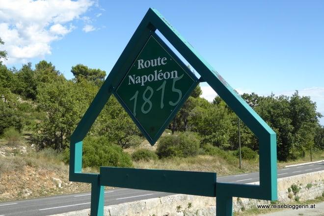 Route Napoléon in Frankreich