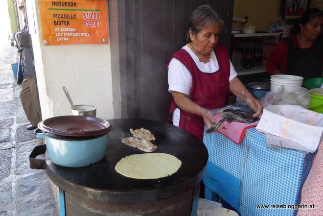 Tacos in Puebla