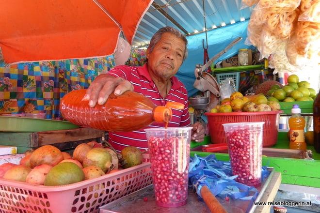 Verkaufsstand in Mexiko