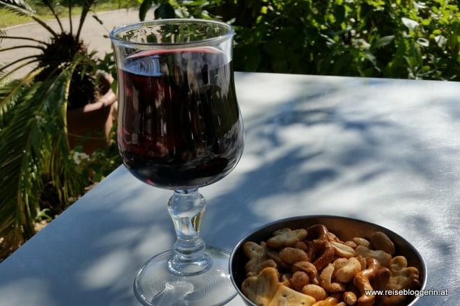 Weinpause im Chagall Museum