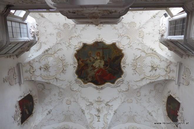 Deckengewölbe der Kapelle