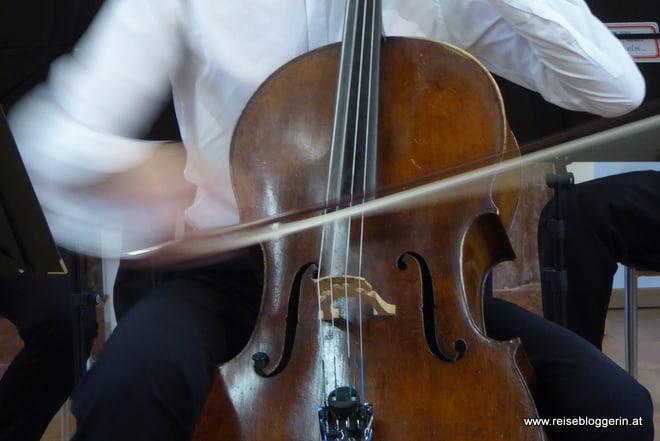 Ein Chello der Salzburg Mozart Players