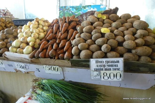 Am Schwarzmarkt in Ulan Bator