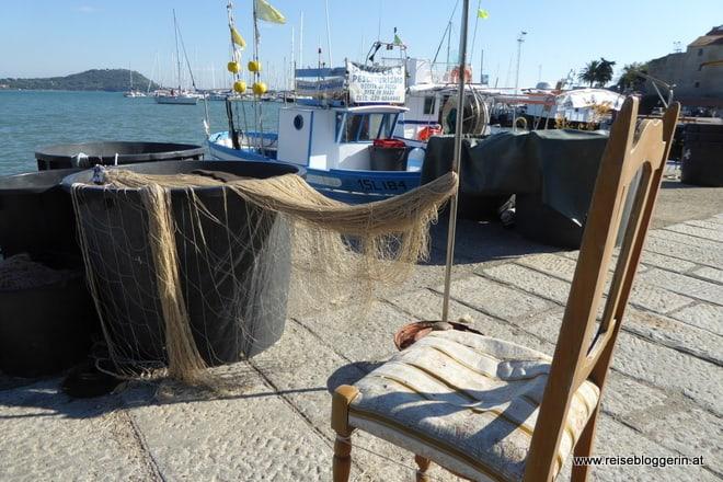 Im Hafen von Talamone