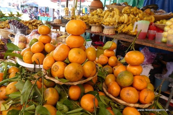 Am Markt in Mexiko