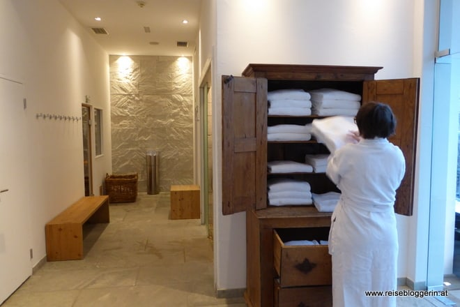 Sauna im Hotel Kitzhof
